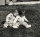 Terrence and Noreen as children